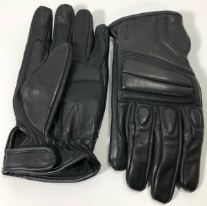 Haisen Made With Kevlar Gloves Black Leather Size Large