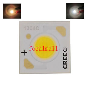 Cree Xlamp Cxa1304 Led 10w 9v 3000k 4000k 5000k White Light Chip Emitter Cob