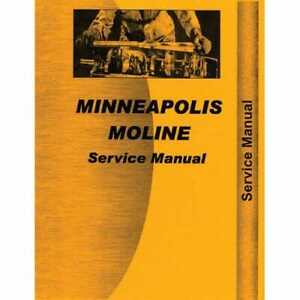 Service Manual Mm s m670 Minneapolis Moline M670 M670 M670 Super M670 Super