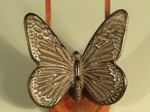 Very Fine Japan Japanese Bronze Figure Of A Butterfly Decoration Ca 20th C