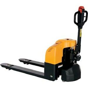 New Heavy Duty Semi electric Self Propelled Pallet Truck 3300 Lb Capacity
