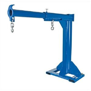 New High rise Telescopic Jib Boom Crane 6000 Lb Cap 36 Fork Centers