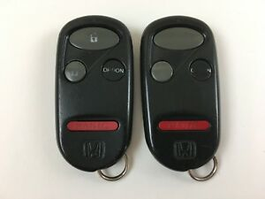 Lot Of 2 Honda Key Less Entry Remote 96 04 Civic Accord Prelude Cr V S2000 Pilot