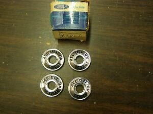 Nos Oem Ford 1957 1960 Truck Pickup Ignition Switch Bezel Lot 1958 1959 F100