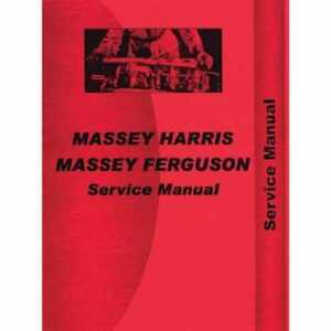 Service Manual 231 261 Massey Ferguson 231 231 261 261