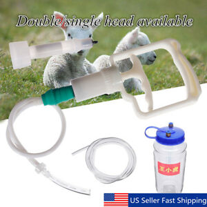 Portable 2l 1 2gal Hand Barrel Milking Machine Goat Sheep Vacuum Pump Bucket Set