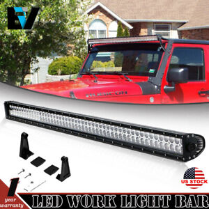 John Deere Skid Steer 52 Led Light Bar Combo Beam 240 250 260 270 313 315
