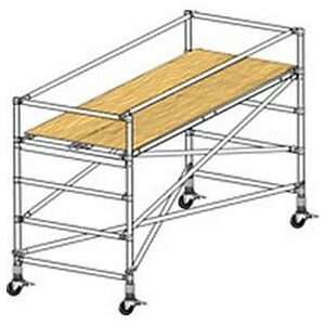 New Scaffolding Wide Span Adjustable Base Section 8 l