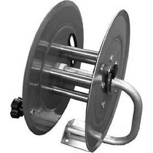 New Stainless Steel Pressure Washer Hose Reel 3500 Psi 150 Capacity