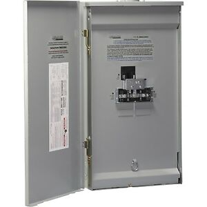 Reliance Controls Corp Twb2006dr 15000w Single Phase Outdoor Transfer Panel