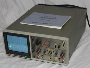 Hitachi V 212 Oscilloscope Dual Channel 20mhz With Manual
