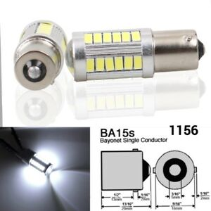 Backup 1156 P21w 33smd Led Projector Lens 6000k Bulb Reverse Light For Mercedes
