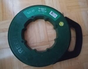 Greenlee Fish Tape 436 10 Fiberglass Low Friction light Weight