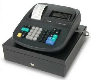 Electronic Management Cash Register W automatic Tax Computation Locking Drawer