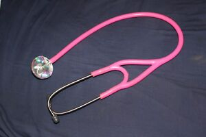 Ultrascope Adult Stethoscope With Hot Pink Tubing Glitter Stethoscopes Medical