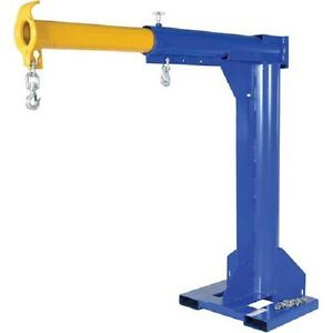 New High rise Telescopic Jib Boom Crane 4000 Lb Cap 24 Fork Centers