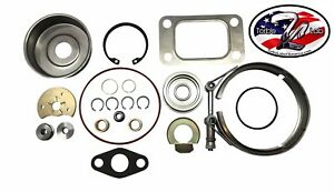 Holset He341 He351cw Hy35 Turbo Rebuild Kit With Vband Clamp 4031484