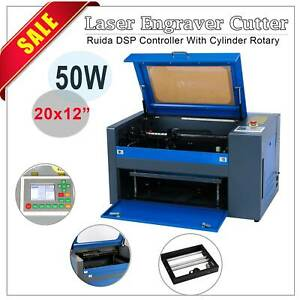 50w Co2 Usb Laser Engraving Cutting Machine 300x500mm Engraver Cutter