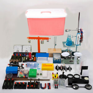 86pcs New Lab Physics Experiment Equipment Full Sets For Optics Electromagnetism