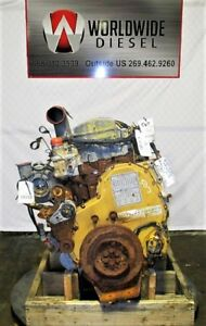 2002 Cat C12 2ks Diesel Engine Take Out 410 Hp Complete Good For Rebuild Only