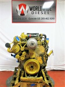 Cat C13 Kcb Diesel Engine Take Out Turns 360 Good For Rebuild Only