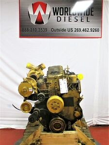 Cat 3126 Electronic Diesel Engine Take Out 275 Hp Good For Rebuild Only