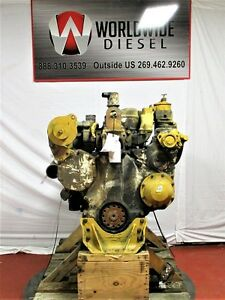 Cat 3406b Diesel Engine Take Out Turns 360 Engine Is Good For Rebuild Only