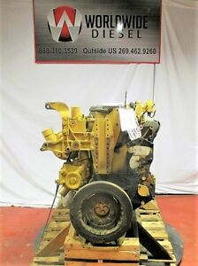 Cat C7 Kal Diesel Engine Take Out 250 Hp Turns 360 Good For Rebuild Only