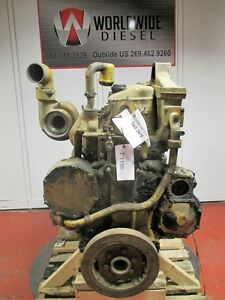 Cat 3406a Engine Take Out 425 Hp Complete Turns 360 Good For Rebuild Only