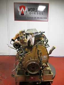 2008 Cat C13 Lee Diesel Engine Take Out 380 Hp Complete Good For Rebuild Only