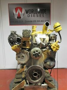 Cat 3406 Diesel Engine Take Out 425 Hp Turns 360 Good For Rebuild Only