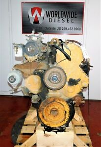 Cat 3406e 1lw Diesel Engine Take Out 40 Pin Turns 360 Good For Rebuild Only