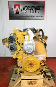 Cat C13 Kcb Diesel Engine Take Out 410 Hp Turns 360 Good For Rebuild Only