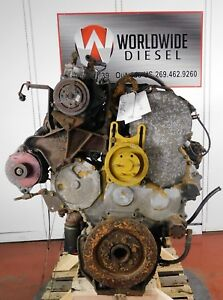 1997 Cat 3406e Diesel Engine Good For Rebuild Only Complete Turns 360