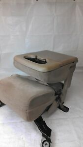 1999 2004 2005 2010 Ford F250 F350 Super Duty Front Center Jump Seat Tan