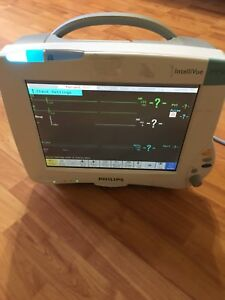 Phillips Intellivue Mp50 Patient Monitor Working