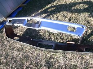 Original Used 1964 Ford Galaxie Front Bumper Galaxie 500