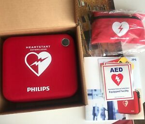 Philips Heartstart Onsite Automated External Defibrillator Complete Rescue ready