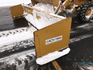 14 Snow Hawg Snow Pusher Plow For Backhoe Loader