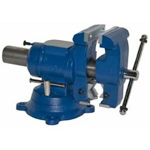 New Yost 5 1 8 Multi jaw Rotating Pipe Bench Vise