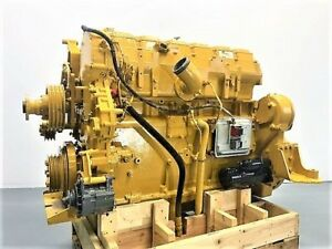 1999 Cat 3406e Industrial 14 6 Liter Diesel Engine 600 Hp Arr 143 3020