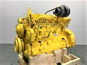 2003 John Deere 6068h Mechanical Diesel Engine 170 Hp Dyno Tested Inline Pump