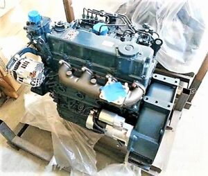 Kubota V3300 Diesel Engine 0 Miles Will Need Your Specs Two Year Warranty