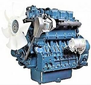 Kubota V3800 Diesel Engine 0 Miles Will Need Your Specs Two Year Warranty