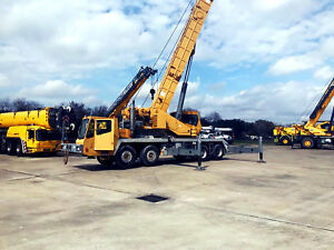 1997 Grove Tms870 Hydraulic Truck Crane 70 Ton Excellent Shape Very Strong