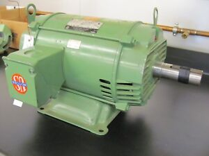 15 Hp 230 460 3 Phase Electric Motor By Us Motor emerson Usa