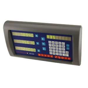 Easson 8a 3x 3 Axis Digital Readout Display Console M dro Incremental Counter