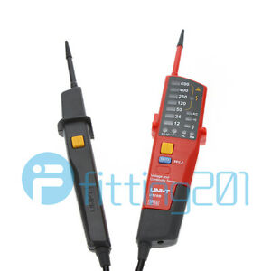 Auto Range Voltage And Continuity Tester Digital Ac Dc Voltmeter Uni t Ut18b