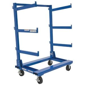 New Portable Cantilever Rack Cart 48 l X 36 w
