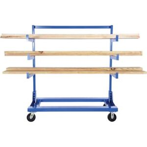 New Portable Cantilever Rack Cart 48 l X 30 w